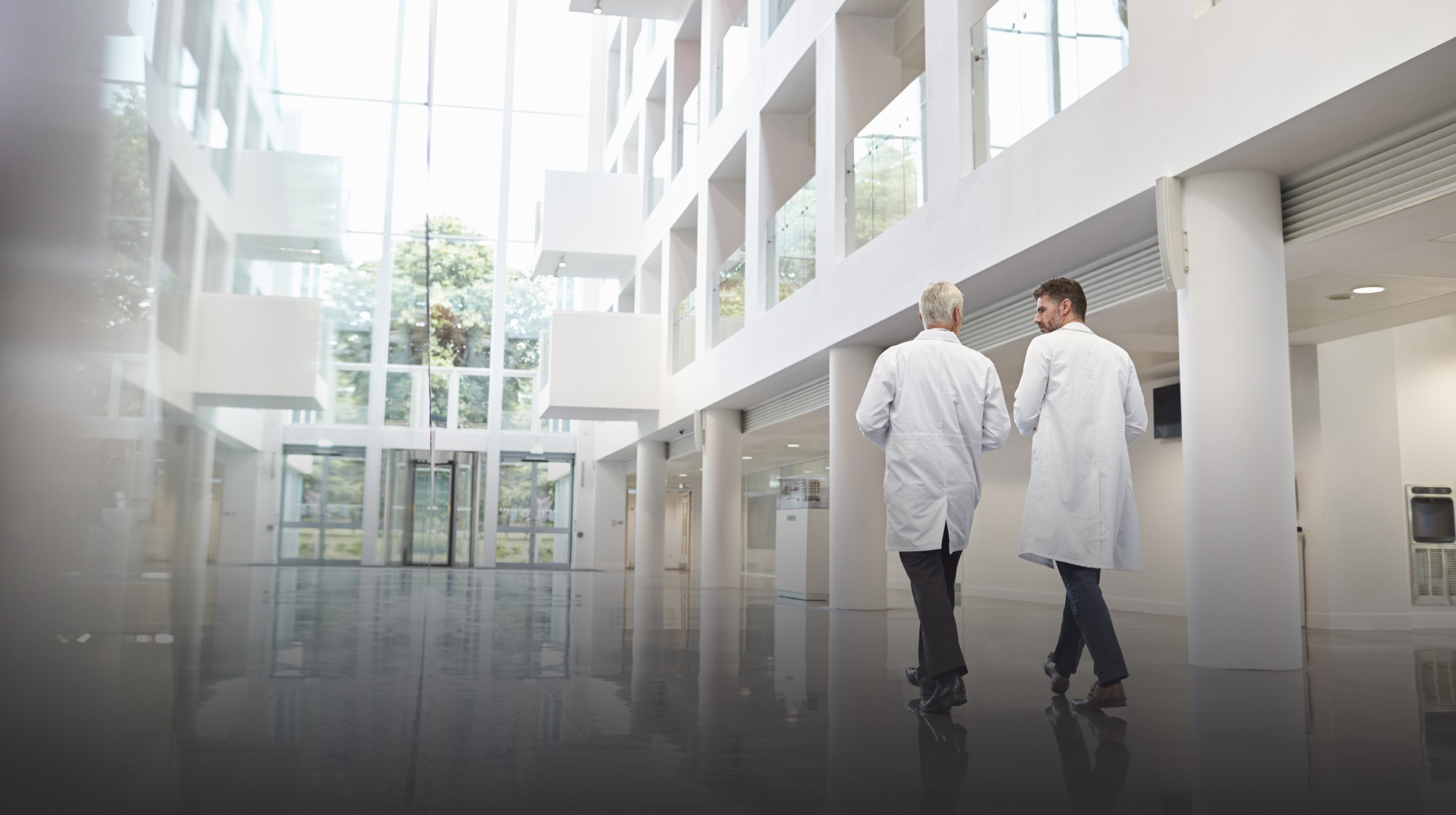 Medical Building Interior