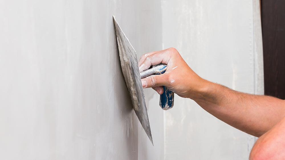 skim-coating-drywall